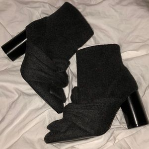 Zara Ankle Knotted Boots